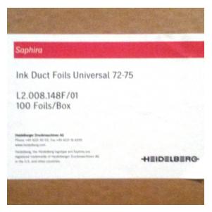 Folinpaket fur Speedmaster 72/CPC